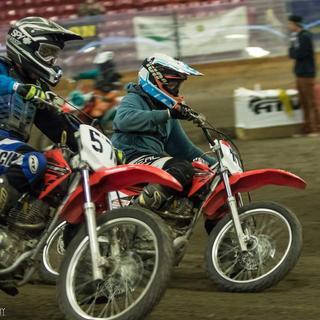 Racing for the flag mini TT