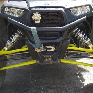"""This is the matching front bumper! Highlighted """"ASSAULT"""" Logo as well!"""