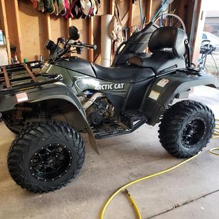 2003 Arctic Cat TRV (Prototype Year)