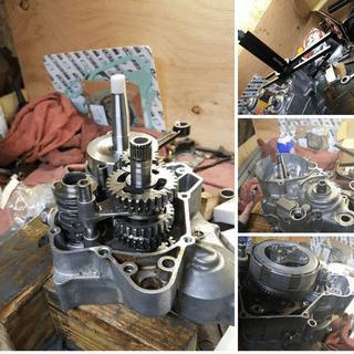 2004 cr85r big wheel full engine rebuild