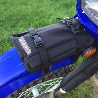 Tusk fender pack mounted on my DRZ400s