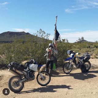 Mojave Trail mailbox, CA