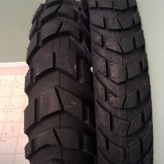 I love the look of this tire!  Looks like it belongs on a tractor, but is super smooth.
