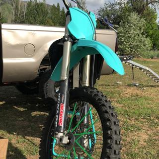 2018 Teal Acerbis Front end on a 2009. No modification needed.