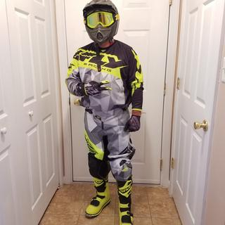 My New Gear so I can ride with my little Man.