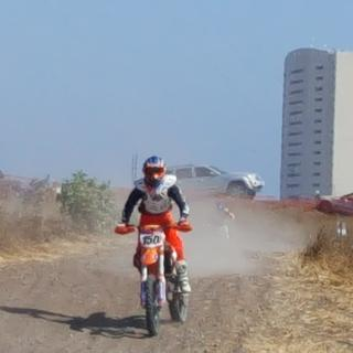 Raced Ironman at Rosarito 150. Course was very hard and rocky. Dunlop tires held up with no problem.