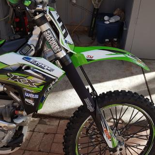 2017 kx250f with the long seal savers