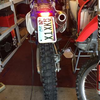 Acerbis X Led Tail Light Dirt Bike Rocky Mountain Atv Mc