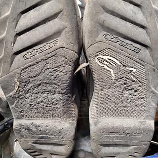Boots after 350 miles