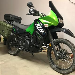 Saw- Motech center stand on 2013 KLR650