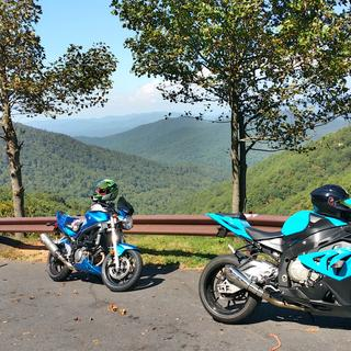 Mountain ride during the week with some friends.