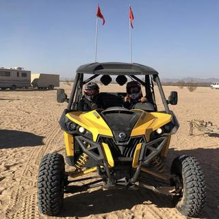 Tires did good at Glamis!