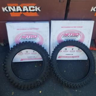Nitro mousse's and my new tires