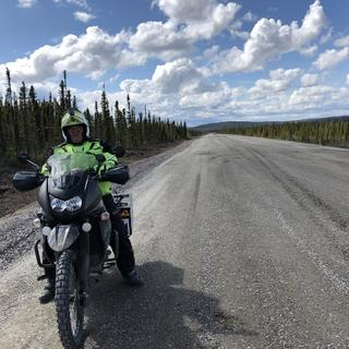 June 5th on the Labrador Highway south bound for the ferry in the 250k construction zone.