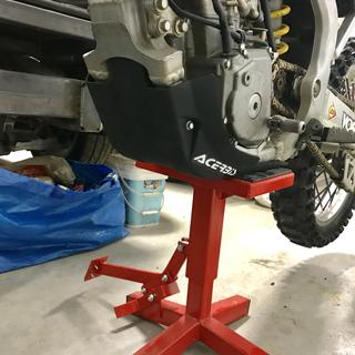 Skid plate looks great! Fits well. Easy installation, tool 3 minutes to put on. Very light weight.