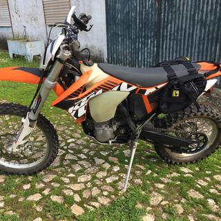Perfect fit on a 2012 KTM 450 EXC