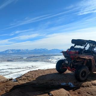 Sevenmile Rim Trail - Moab, UT. Winter 2017