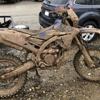 Hare Scramble mudfest, tires killed it all day.