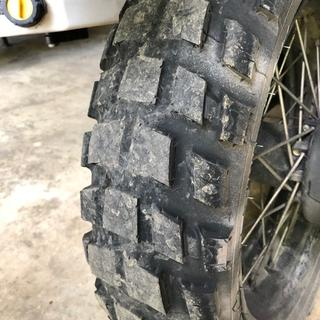 rear tire after about 5500 miles