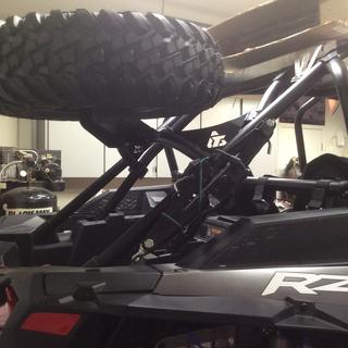 Nice piece tire rack