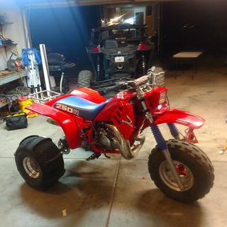 85 atc250r, 310 hpr motor