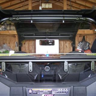rear picture of window on RZR 2019 trail model