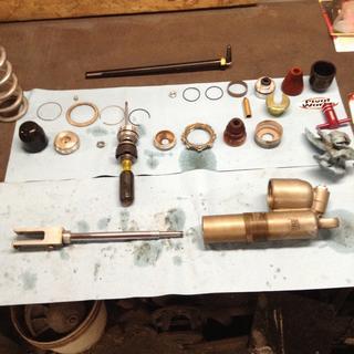 Installing the new Pivot Works Rear Shock Rebuild Kit.