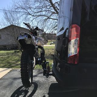 Ultimate Mx Hauler Motorcycle Carrier Dirt Bike Rocky