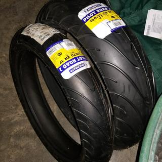 michelin pilot road 2 rear motorcycle tire tires and wheels rocky mountain atv mc. Black Bedroom Furniture Sets. Home Design Ideas