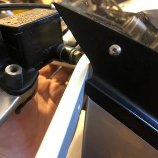 Bar will hit fairing if mounted in the correct position.