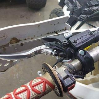 I bet my handguards for more room around the lever.