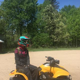 Riding up in Baldwin Michigan