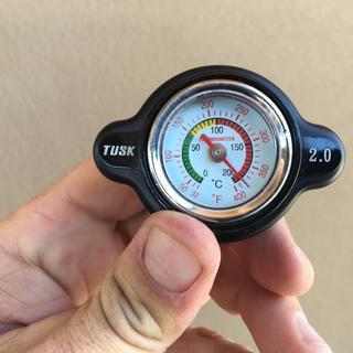 High Pressure Radiator Cap with Temperature Gauge 1.8 Bar for Yamaha YZ400F 1998