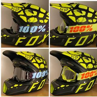 My 2nd Fox Racing V3 helmet is the Fox Grav V3. It's too pretty, I don't want to get it dirty yet!