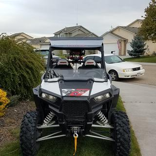 New tusk winch looks great on my RZR S 1000