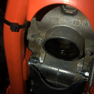 KTM didn't do any favors for mounting a skid plate