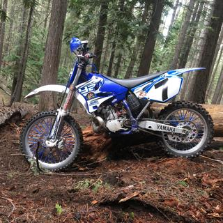 2003 YZ250 before