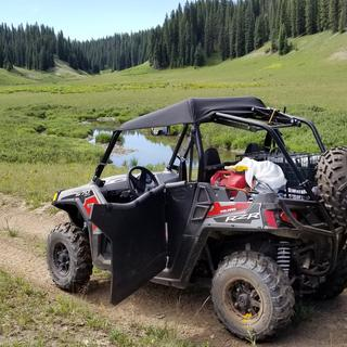 Tusk UTV Rear Bumper, Cargo Rack, and Spare Tire Carrier | Parts