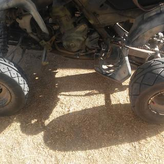 Good all-around ATV tire I would recommend it to anybody so far I've had no troubles at all