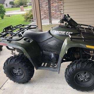 Tusk Mud Force on the Arctic Cat!!