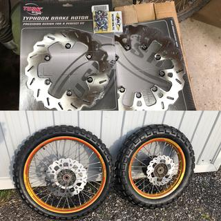 Front and rear tusk rotors and hardware thanks rocky mountain atv mc