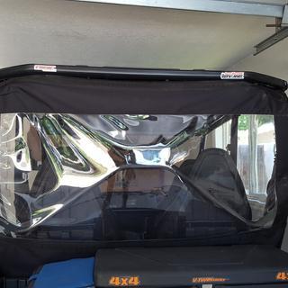 Tusk Rear Window Kawasaki Teryx4 750 2012 2013