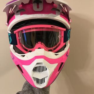 Goggle inside my Fly Racing Kinetic Burnish Helmet Medium