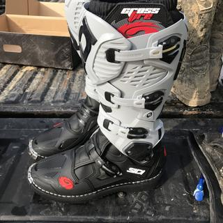 44 Protective Gear Motorcycle & ATV Sidi Crossfire 3 TA Boots Black