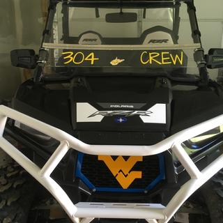 Seizmik pursuit mirrors on a 2015 Polaris rzr 900 trail