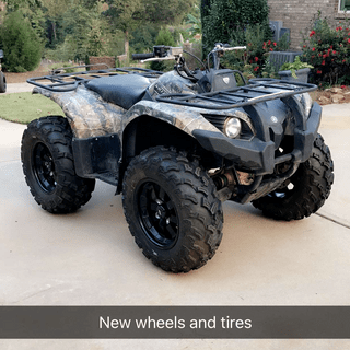 Grizzly 450 4x4. 27 inch tires