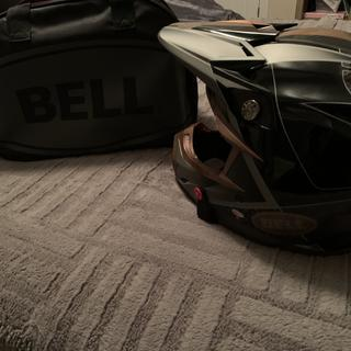 Bag and helmet