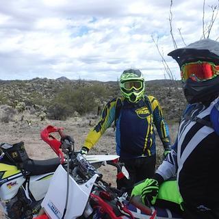 Needed some tint for the Arizona desert riding!