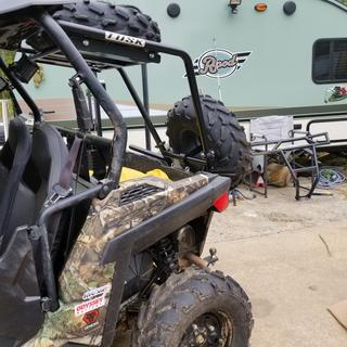 "2015 900 rzr trail 50"" Tusk rear rack"