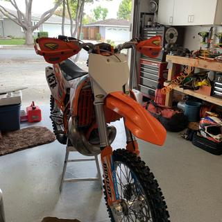 Great way to update the look of your 11-16 two stroke!